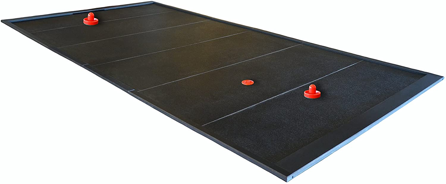 Puckashmaka Pool Table Hockey 8 Foot Size, Fast Paced Action Just Like Air Hockey