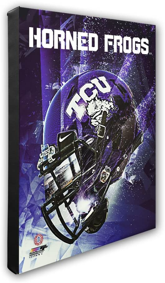 """NCAA Tcu Horned Frogs Beautiful Gallery Quality, High Resolution Canvas, 16"""" x 20"""""""