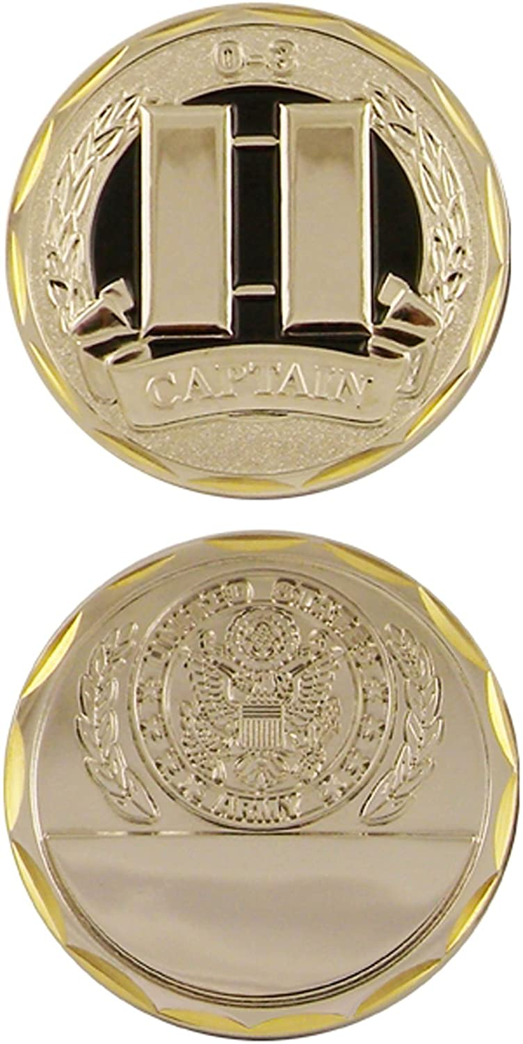 U.S. Army Captain 0-3 Challenge Coin