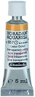 Schmincke Horadam Artists Watercolours Transparent Ochre 5ml Tube (Series 1) (657)