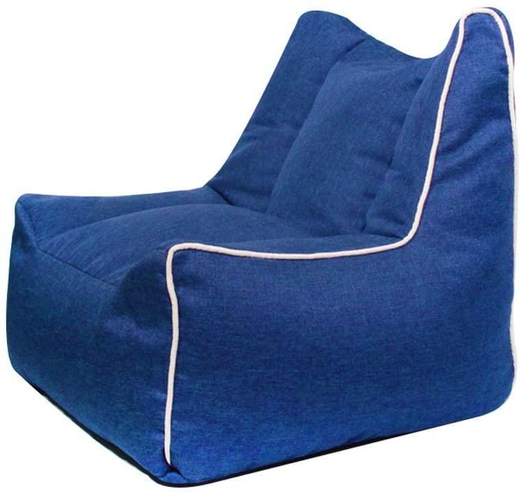KFDQ Novelty Kids Sofa,Cartoon Children's Sofa, Baby Mini Armchair, Single Sofa Seat, Child Reading Stool, Suitable for 1-10 Year Old Boys and Girls, 60×60×56Cm,Blue