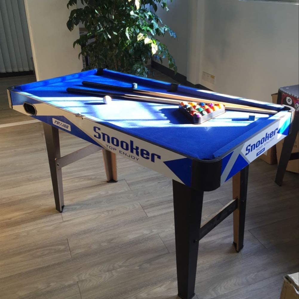 Foldable Pool Table Home Use,Portable Billiard Table with Balls and Sticks,Tabletop Billiards Game for Family Entertainment