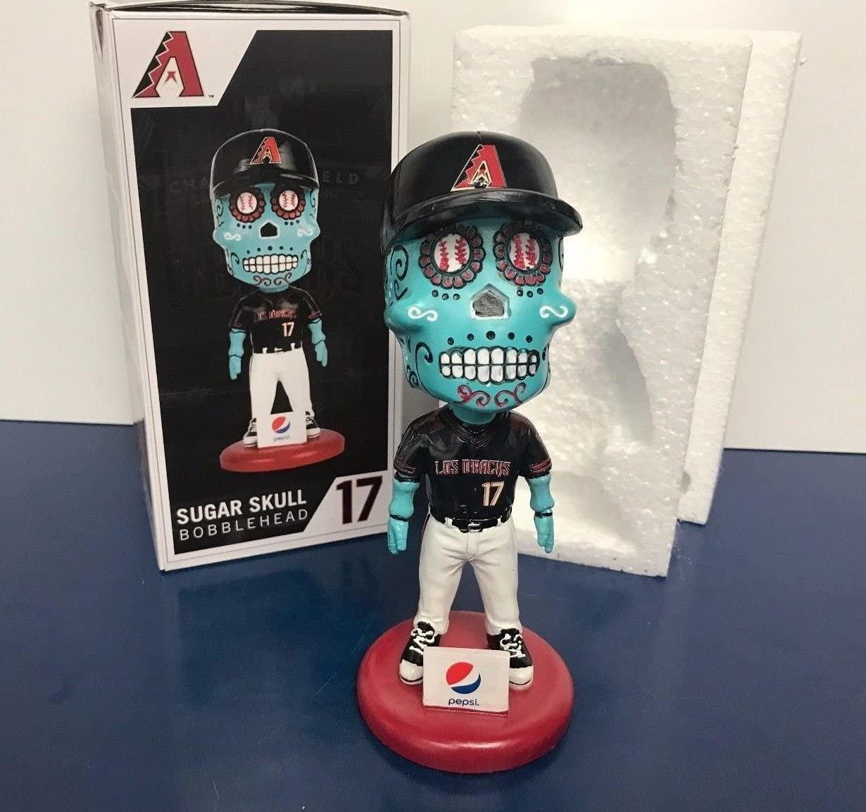 Sugar Skull Dia De Los Muertos Day of The Dead Arizona Bobblehead SGA