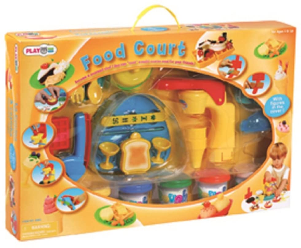 Playgo Toys Food Court