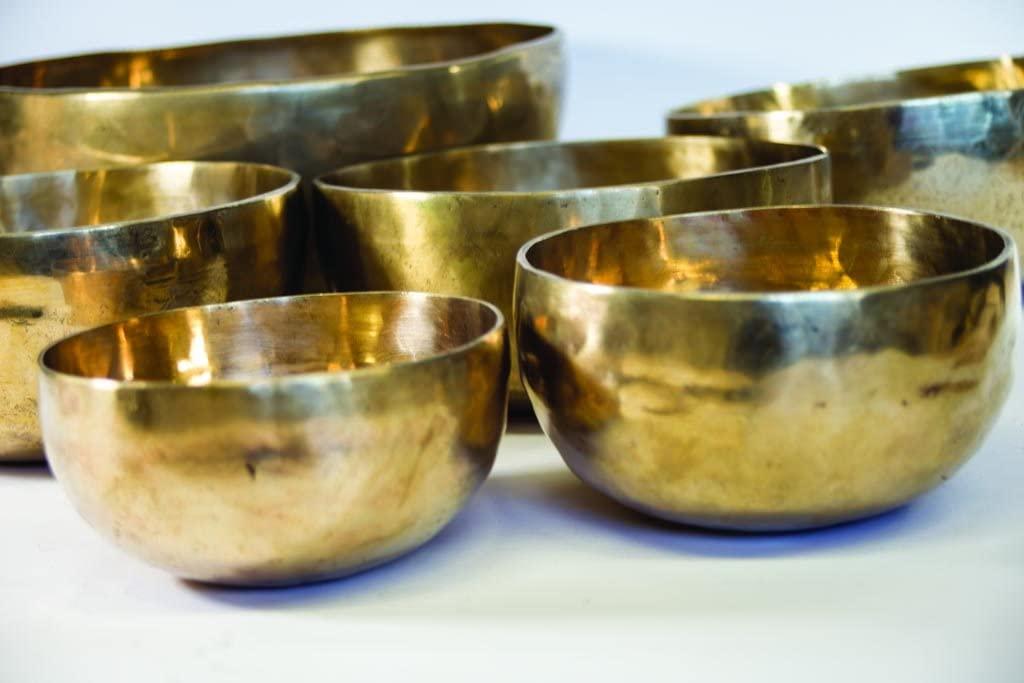 Handmade Singing Bowl from India,meditation bowls, 4.3