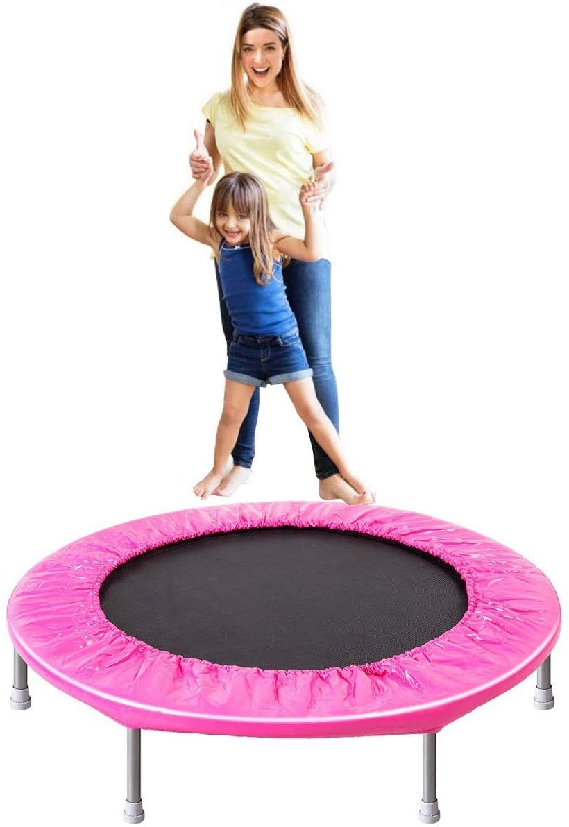 ARPSTAR 38'' 45'' 12FT 15FT Trampoline for Kids and Adults Indoor or Outdoor Use