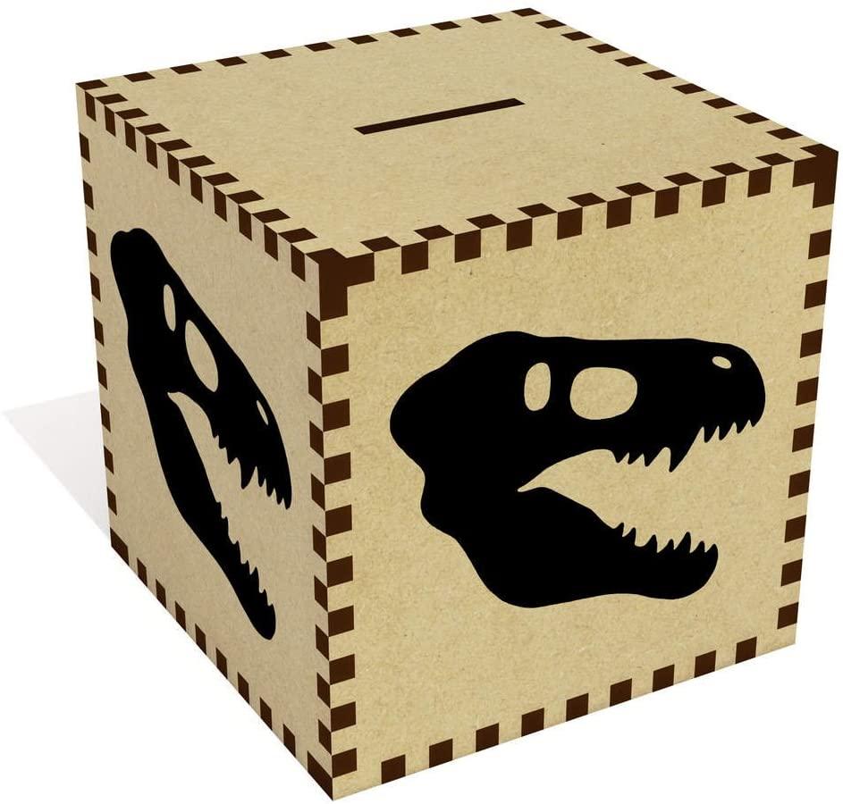 Azeeda Large 'Dinosaur Skull' Money Box / Piggy Bank (MB00057728)