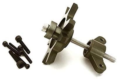 Integy RC Model Hop-ups C28713GUN 1.9 & 2.2 Size Beadlock Wheel Mounting Tool for 1/10 Scale Crawlers