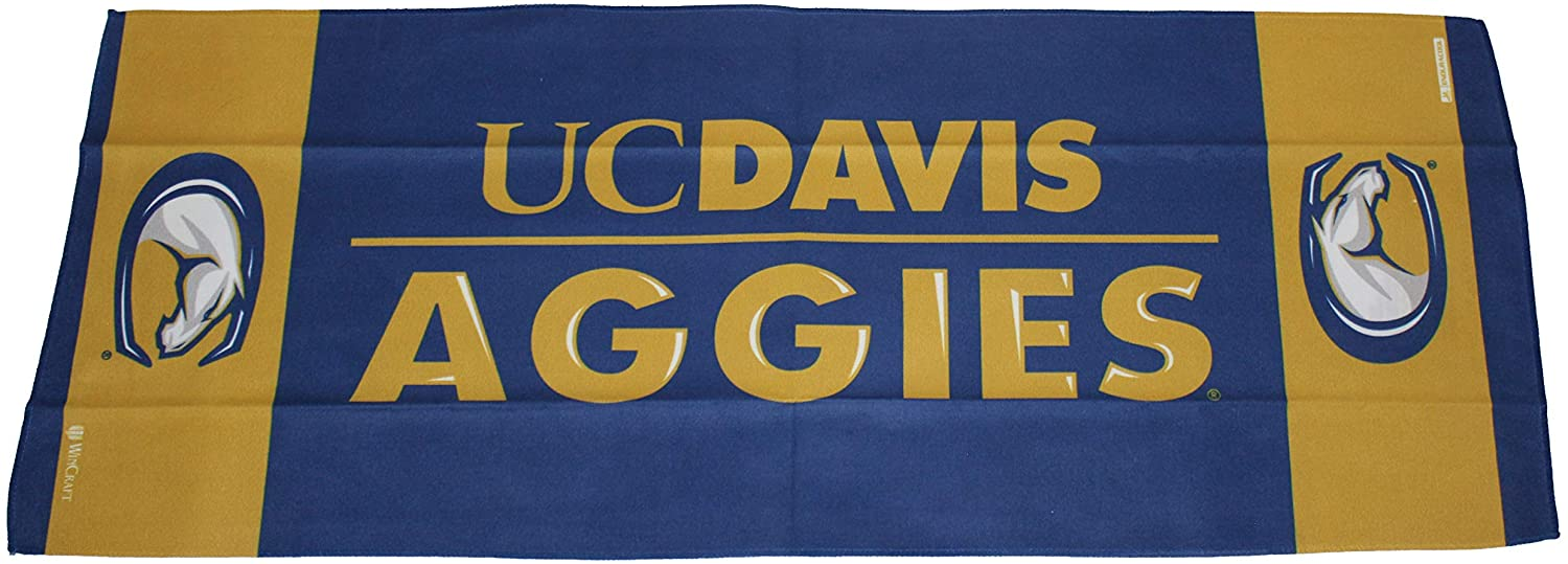 WinCraft UC Davis Aggies Cooling Towel, 1 Sided, 12x30 inches
