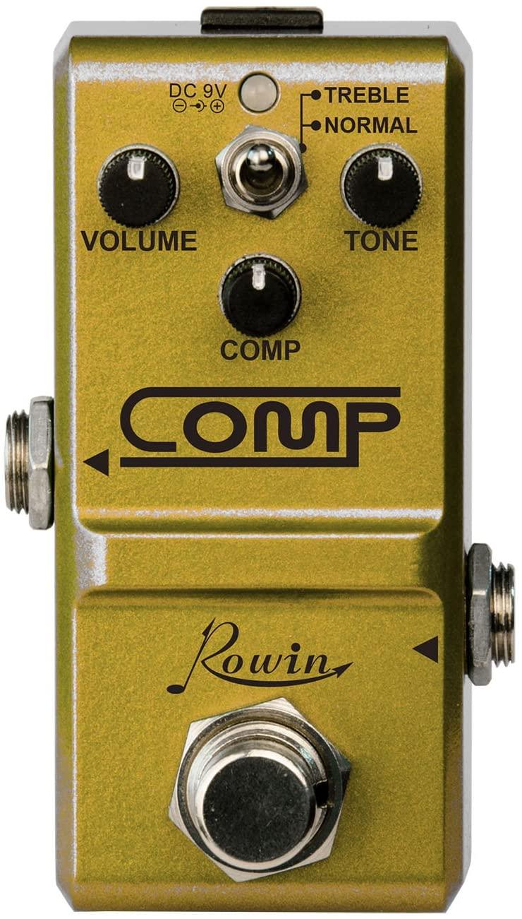 Rowin Super Mini Opto compressor Box for Guitarists