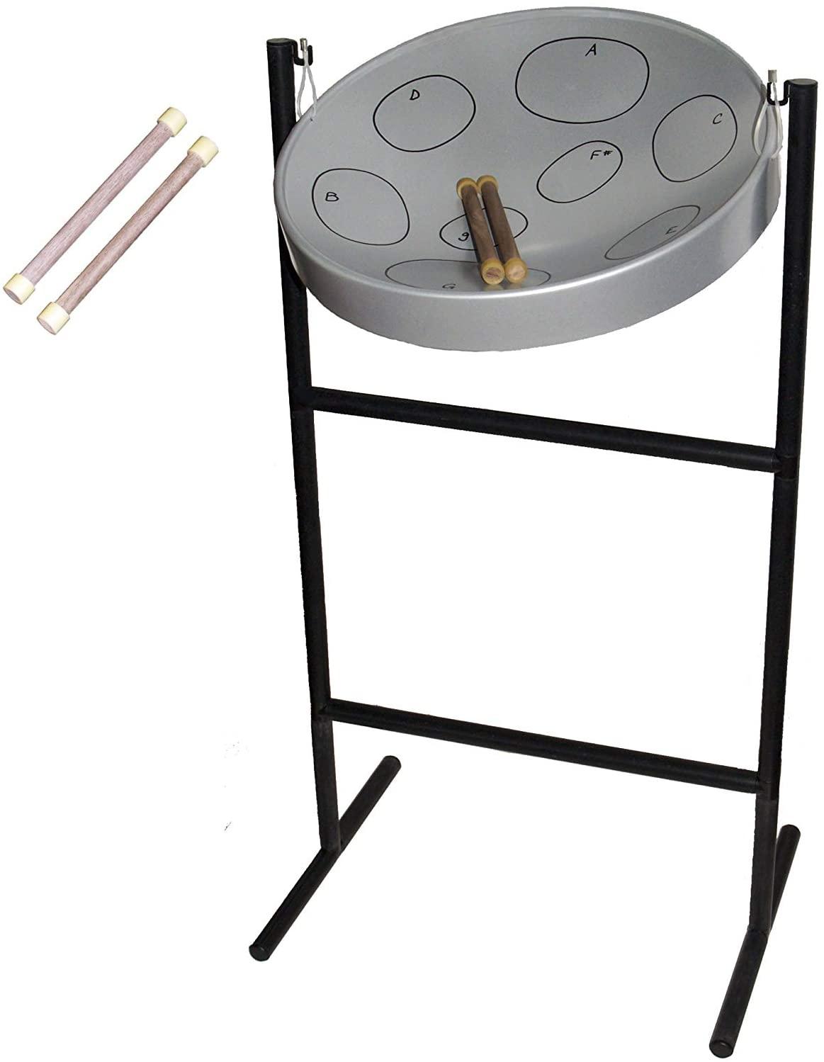 Panyard Steel Drum (1070) bundled with extra pair of sticks