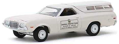 Greenlight 42910-C Hot Pursuit Series 34-1972 Ford Ranchero - Animal Protection Division of Police County of Henrico, Virginia 1/64 Scale