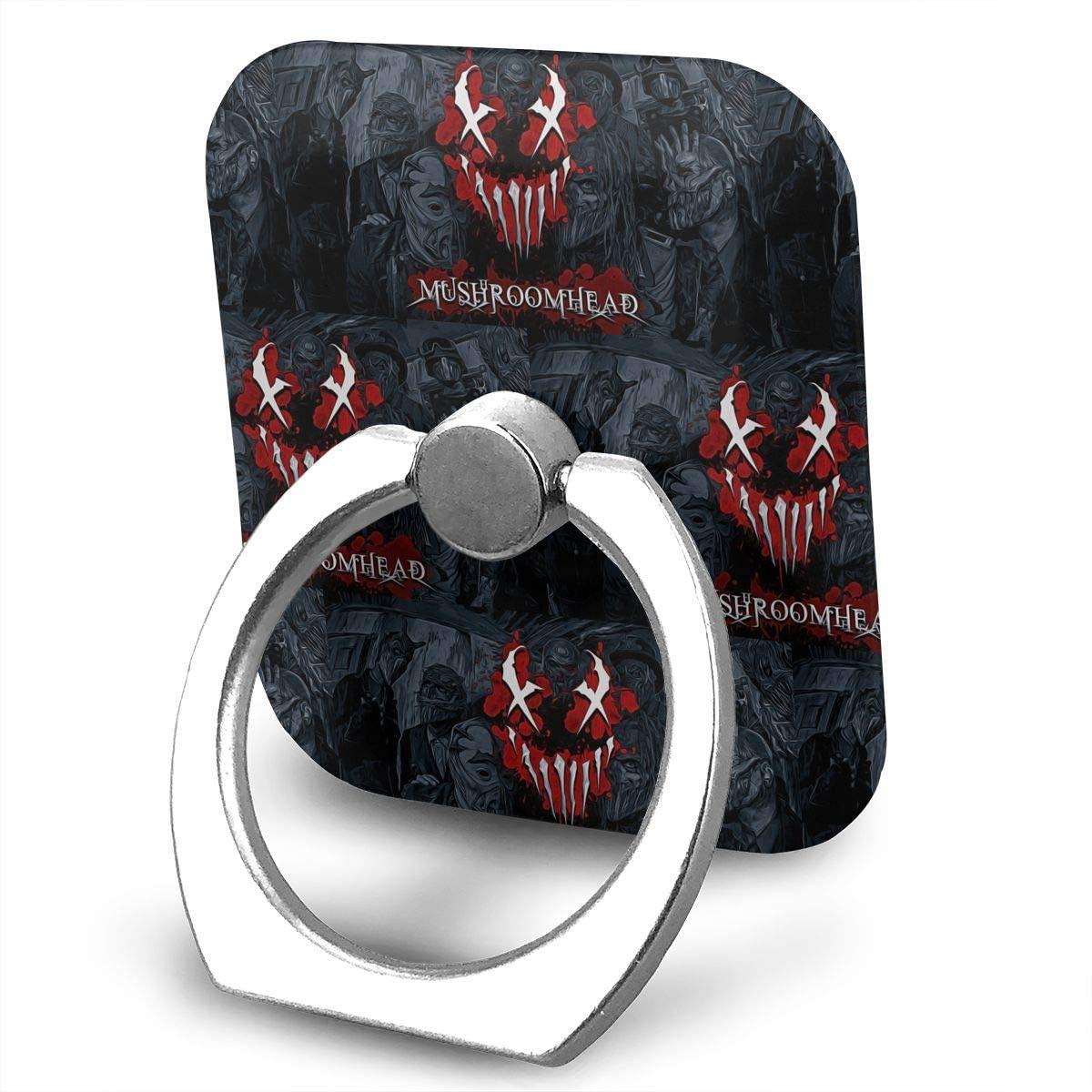 Mushroomhead Phone Finger Ring Stand Bracket Holder Smartphone Grip Stand Holder 360 Degree Rotating Sticky Cute