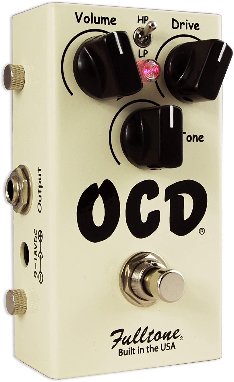 Fulltone OCD Obsessive Compulsive Drive Version 2.0 OD/Distortion Pedal