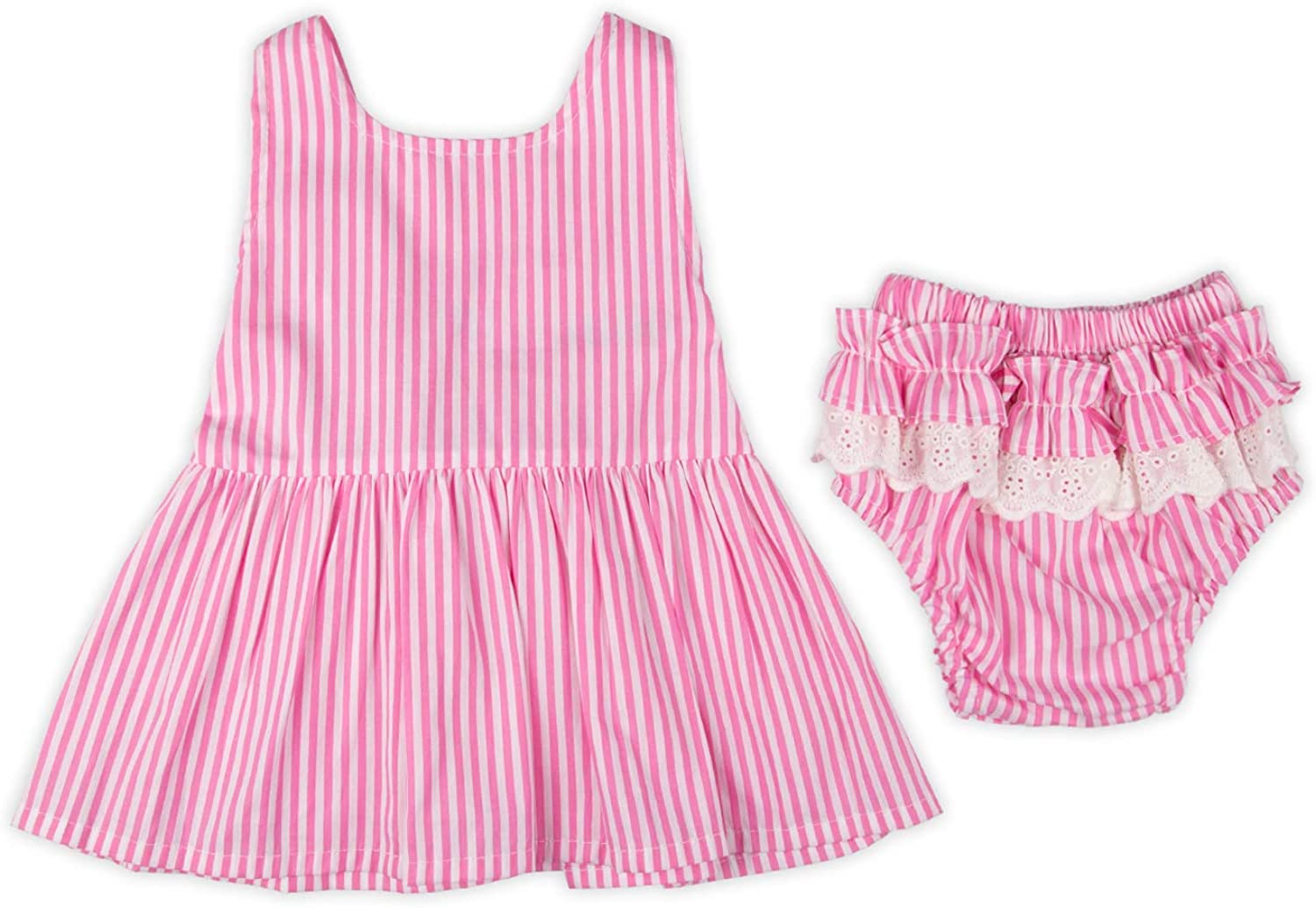 Baby Girl Summer Outfits Big Bow Knot Dress Shorts Set