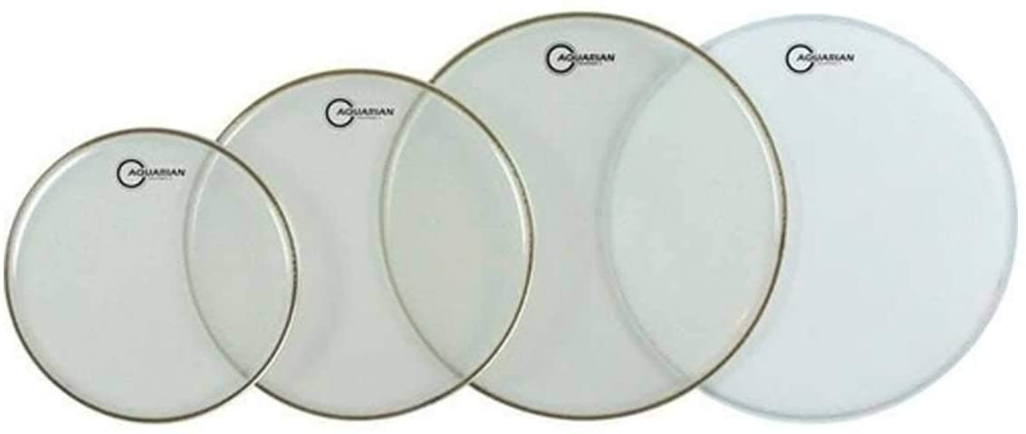 Aquarian Drumheads RSP2-A Response 2 Tom Pack 10, 12, 14-inch