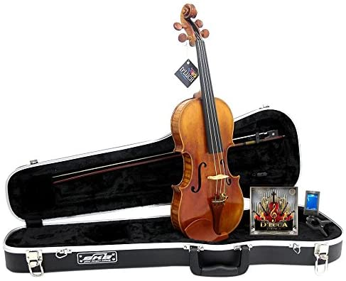 D'Luca PROV-CA900-44 Strauss 900 J.S. Antique Finish Violin 4/4 with SKB Molded Case