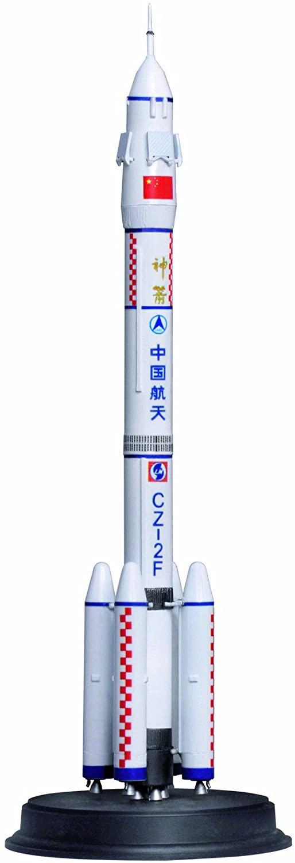 Dragon Models 1/400 CZ-2F Rocket, Chang Zheng2F Chinese Manned Orbital Carrier Rocket