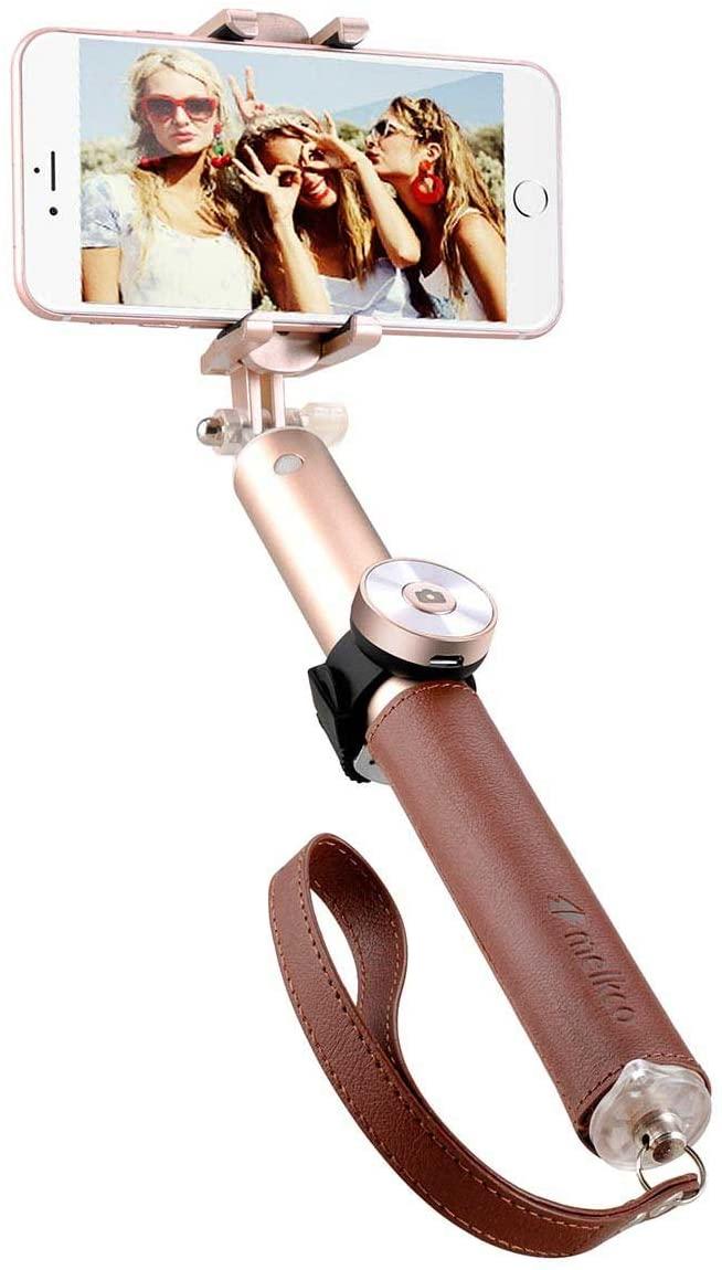 Melkco Gofove Leather Selfie Pro Stick - Gold