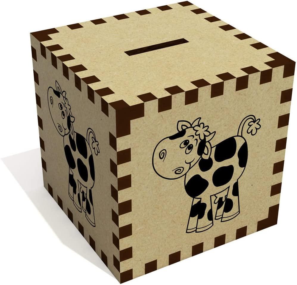 Azeeda 'Cute Cow' Money Box / Piggy Bank (MB00052183)