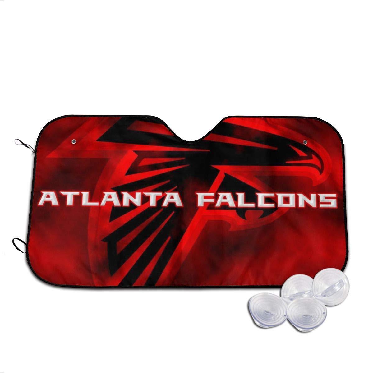 Atlanta-Falcons Car Sunshade Windshield Sunshade Universal Fit Block Sun Heat Protect Car Interior Medium