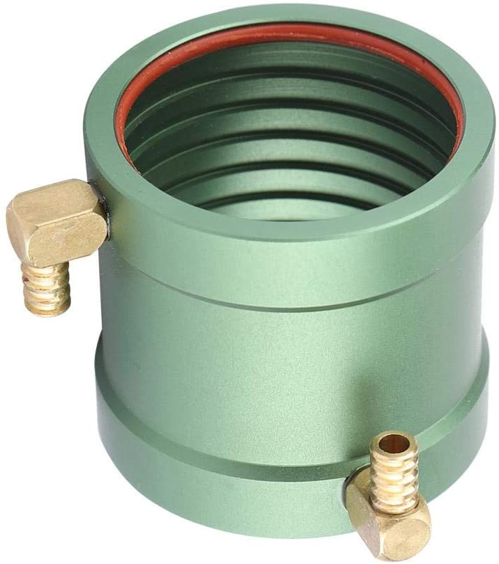 36-40mm/36-50mm Water Cooling Jacket,RC Ship Boat Motors Water Cooling Jacket Water-Cool Kit for 3650 3660 3665 3674 Motor,CNC Machined Metal Construction,Anodized Finish for Durability(36-40MM)