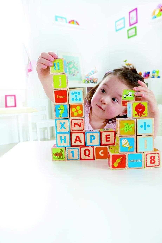 Hape ABC Wooden Stacking Blocks