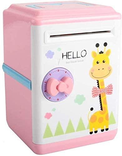 Aoyo Kids Automatic Money Saving Box Children Cartoon Bank Safe Coin Deposit ATM Password Birthday Gifts Cash Toy