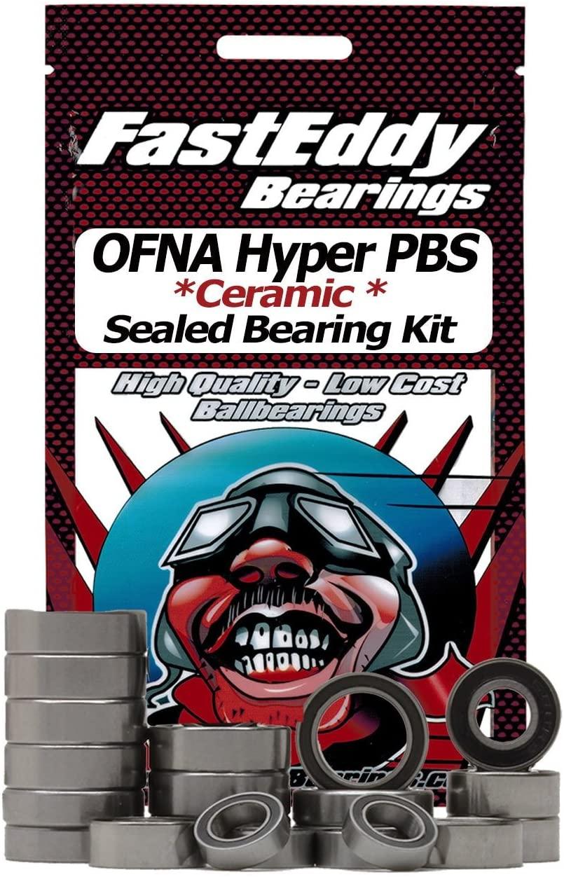 OFNA Hyper PBS Ceramic Rubber Sealed Bearing Kit