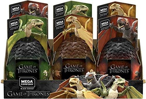 Holland Plastics Original Brand Game of Thrones Dragon Egg! x1 Sent Out at Random Viserion/Rhaegal/Drogon