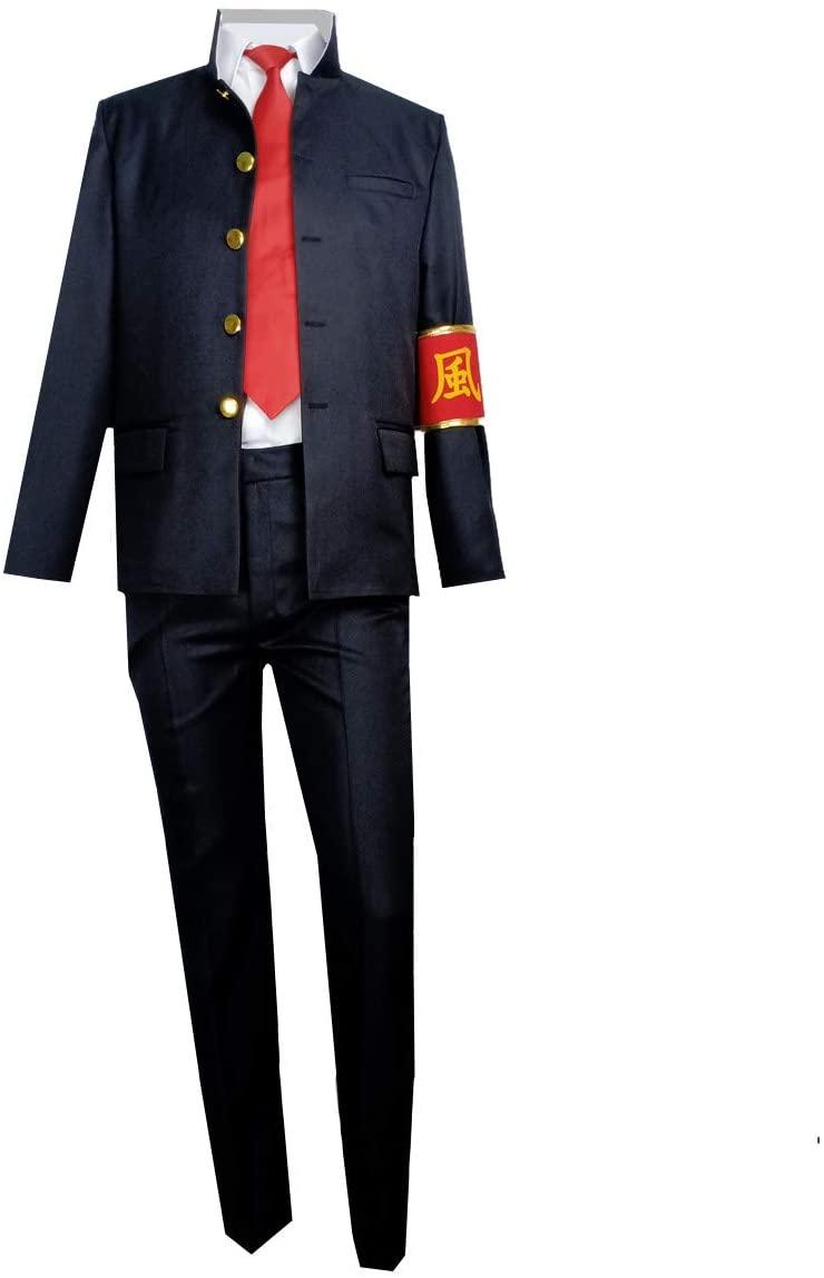 Lvcos Katekyo Hitman Reborn Hibari Kyoya Cosplay Costume (Male L)
