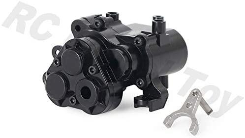 Parts & Accessories TRX-4 Aluminum Alloy Gearbox Housing Transmission Case for 1/10 RC Crawler Car for Traxxas TRX6 TRX4 Upgrade Parts - (Color: Black)