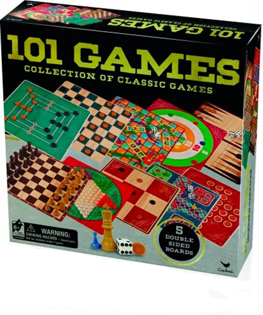 Cardinal Set 101 Games (BIZAK 61928377) , Color/Model Assortment