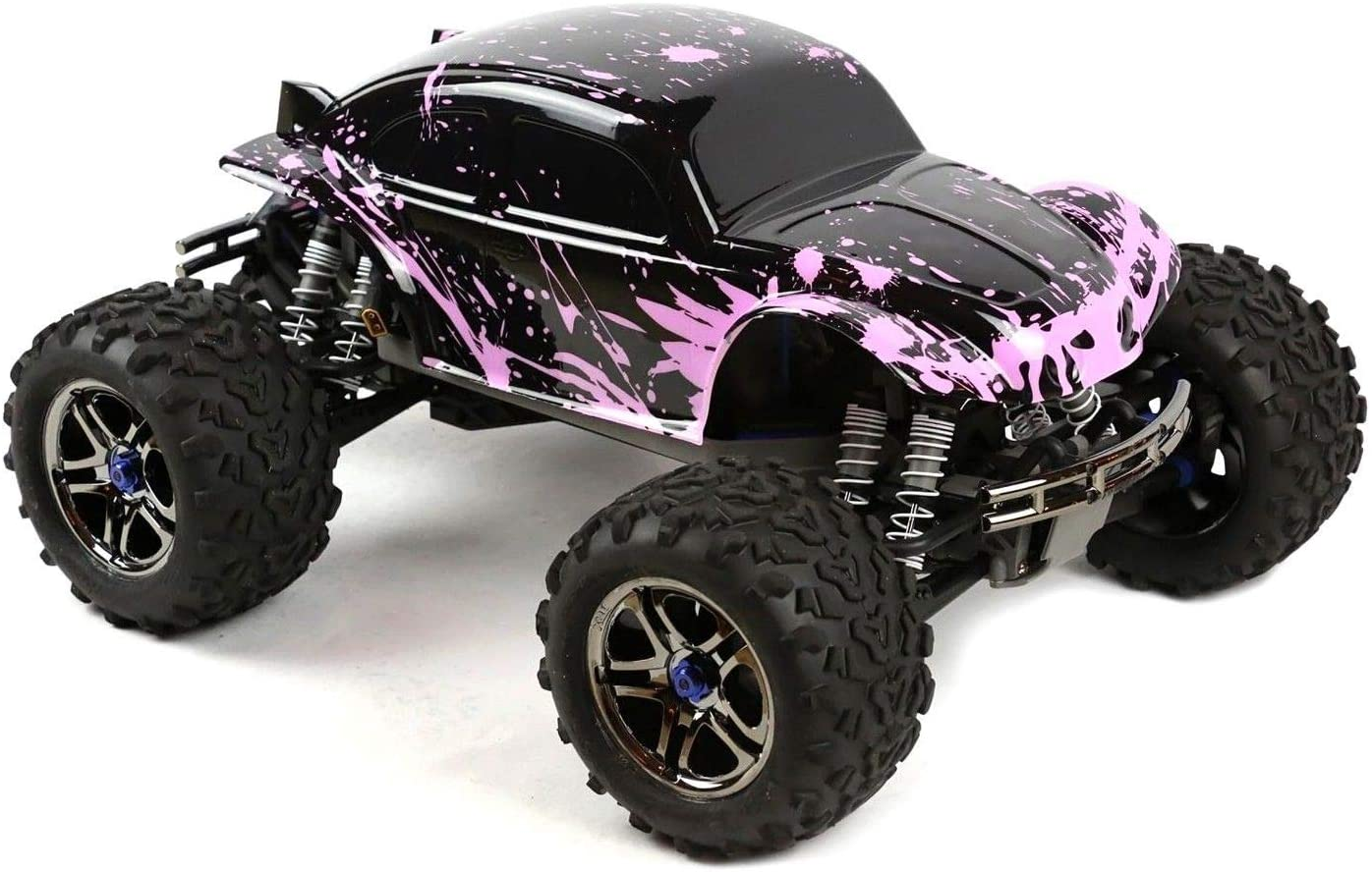 SummitLink Compatible Custom Body Muddy Pink Over Black Replacement for 1/10 1/8 Scale RC Car or Truck (Truck not Included) B-BP-02