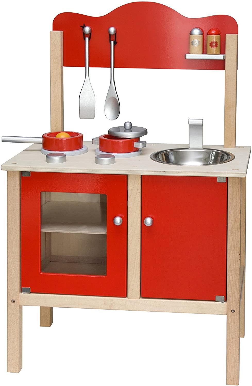 VIGA Toys - 50384 - Noble Kitchen - Red