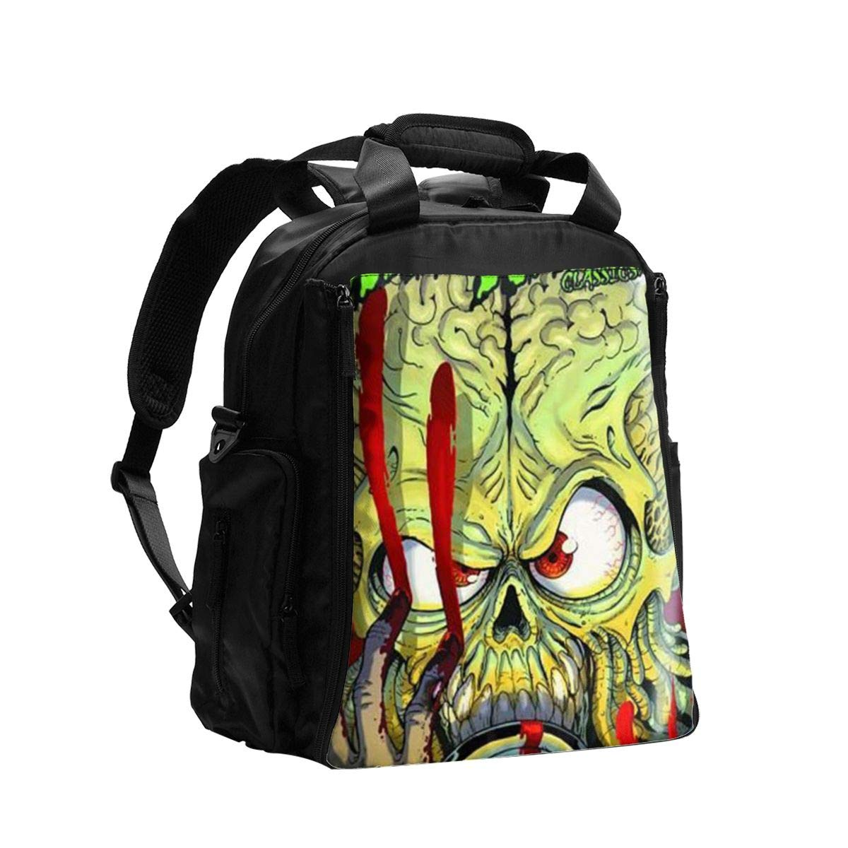 Mars Attacks Diaper Bag Backpack,Baby Travel Nappy Back Pack