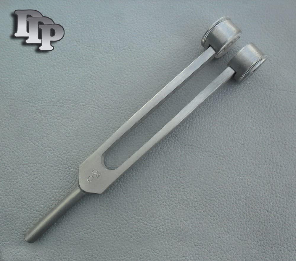 2 Pieces Tuning Fork C 128 ENT Diagnostic Instruments