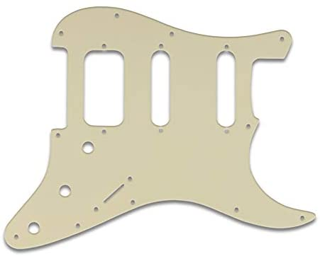 Pickguard For Fender Lonestar Strat, 11-Hole, 3-PLY PARCHMENT