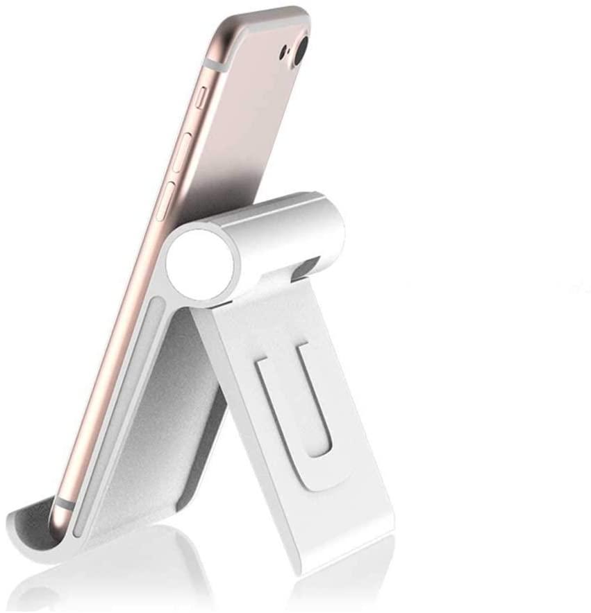 Sumerlly Tablet Holder Support Foldable Phone Holder Adjustable Angle Table Mount Holders