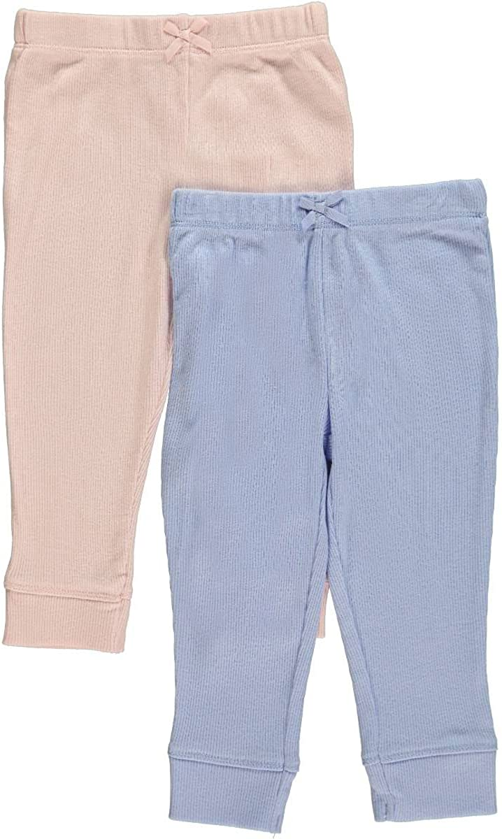 Carter's Baby Girls' 2 Pack Pants (Baby) - Blue