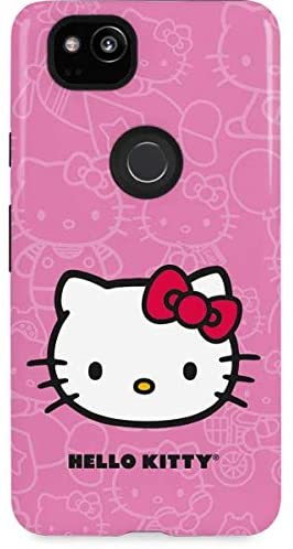 Skinit Pro Phone Case for Google Pixel 2 - Officially Licensed Sanrio Hello Kitty Face Pink Design