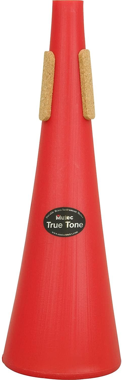 Mutec MHT214 Truetone by Straight Mute for Trombone - Blue Plastic