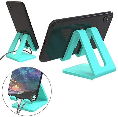 Vividy Portable with Charging Hole Mobile Phone Stand Desktop Phone Holder Dresses