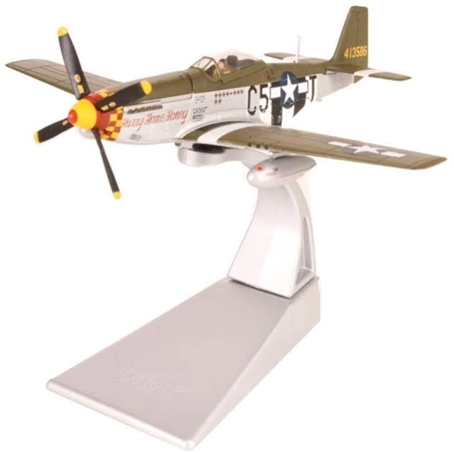 Corgi AA27705 Boeing North American P-51D Mustang 44-13586/C5-T Hurry Home Honey USAAF Model
