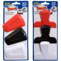 Power Clips Assorted Plastic Clips, 3-ct. Packs