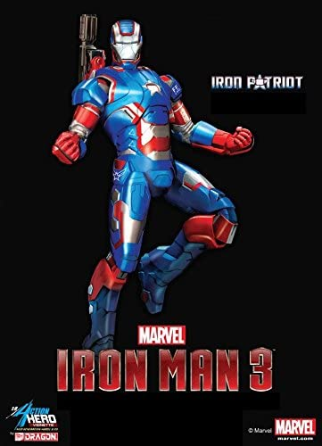 Dragon Models Iron Man 3 Iron Patriot Vignette Action Hero
