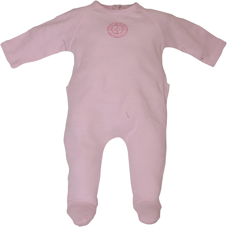 Newborn Sleep & Play 1 pc Baby Footie Sleeper Stripes 100% Cotton Footed Romper