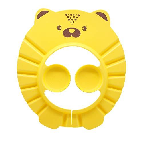 Baby Shower Cap Bathing Cap - Soft Adjustable Visor Hat Safe Shampoo Shower Bathing Protection Bath Cap for Toddler Baby Kids Children (Blue)