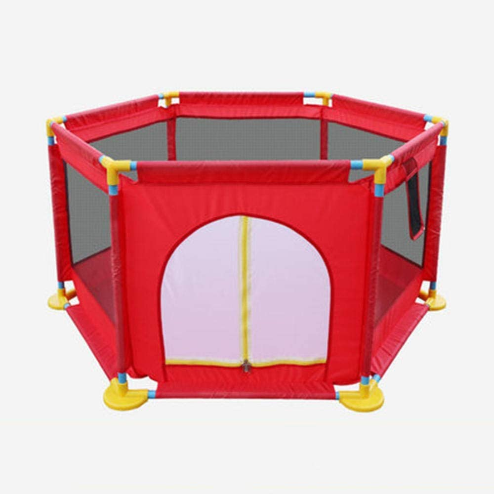 LEILEI Baby playpen Children's Playground Baby Crawling Toddler Game playpen Shooting playpen Indoor and Outdoor Safety playpen Portable Foldable playpen-A