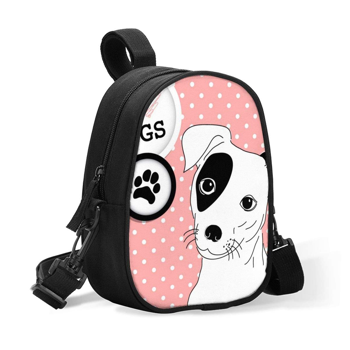 Breastmilk Cooler Bag Insulated Baby Bottle Bag Cute Funny Jack Russell Terrier I Love Dogs Reusable Baby Bottle Warmer Tote Bag Handbag Lunch Bag Box for 2 Large Bottles for Nursing Mom, Stroller